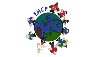 EHCP - graphic of people round a globe