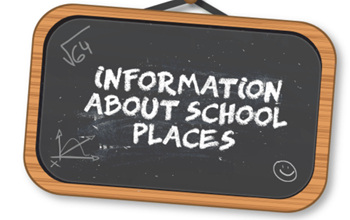 Information about school places.