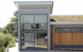 Photo of Cleobury customer service point