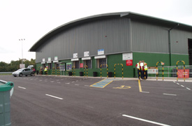 Photo of Oswestry Household Recycling Centre