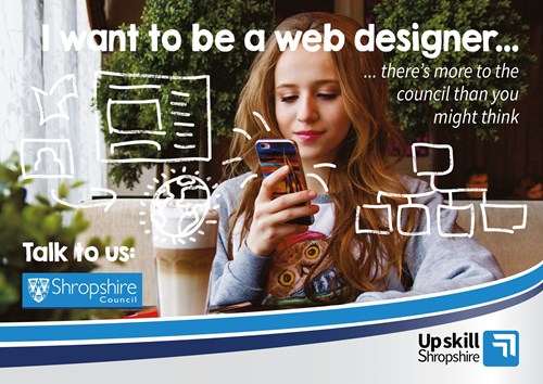 I want to be a web designer image