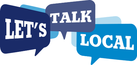 Let's Talk Local logo